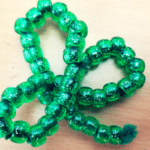 Beaded Shamrock Craft