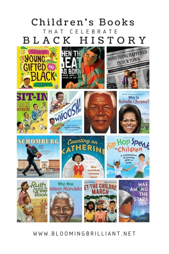 Pinterest Pin: Children's Books that Celebrate Black History