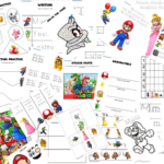 Super Mario Learning Activity Pack