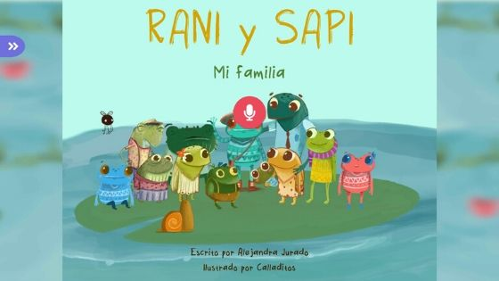 FabuLingua Record Story Screen