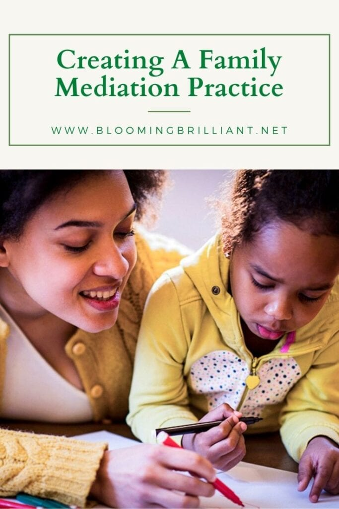 Pinterest Pin Creating a Family Meditation Practice that is fun and simple for you and your children.