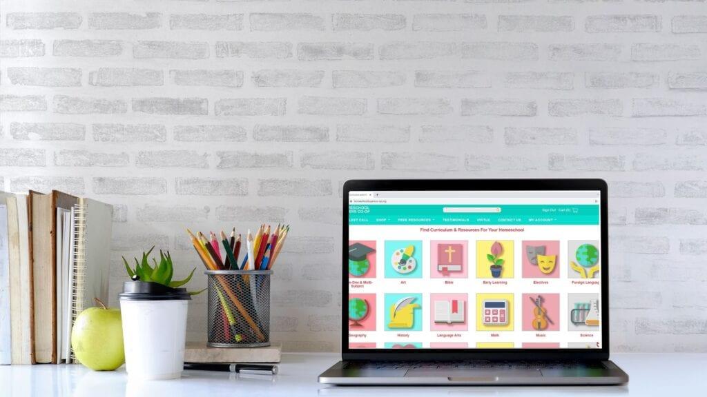 Blog Banner Save Money in Your Homeschool with Homeschool Buyers Coop
