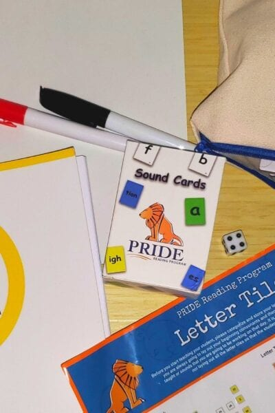 Blog Banner Teaching Your Child to Read with Pride Reading Program