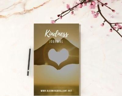 Blog Banner Teaching Kids Kindness with Kindness Journal
