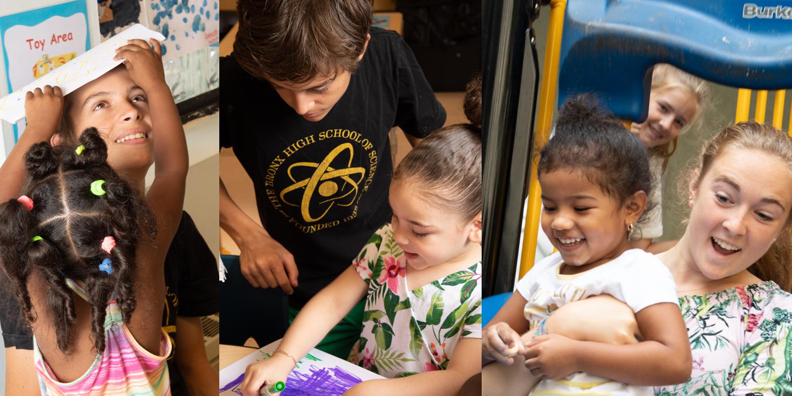 Summer Volunteers Collage #2
