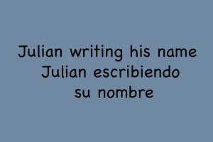 Julian Writing