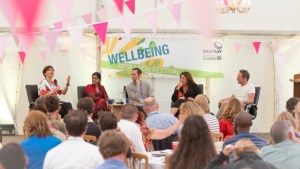 Panel discussion at the Leading Wellbeing Research Festival 2015