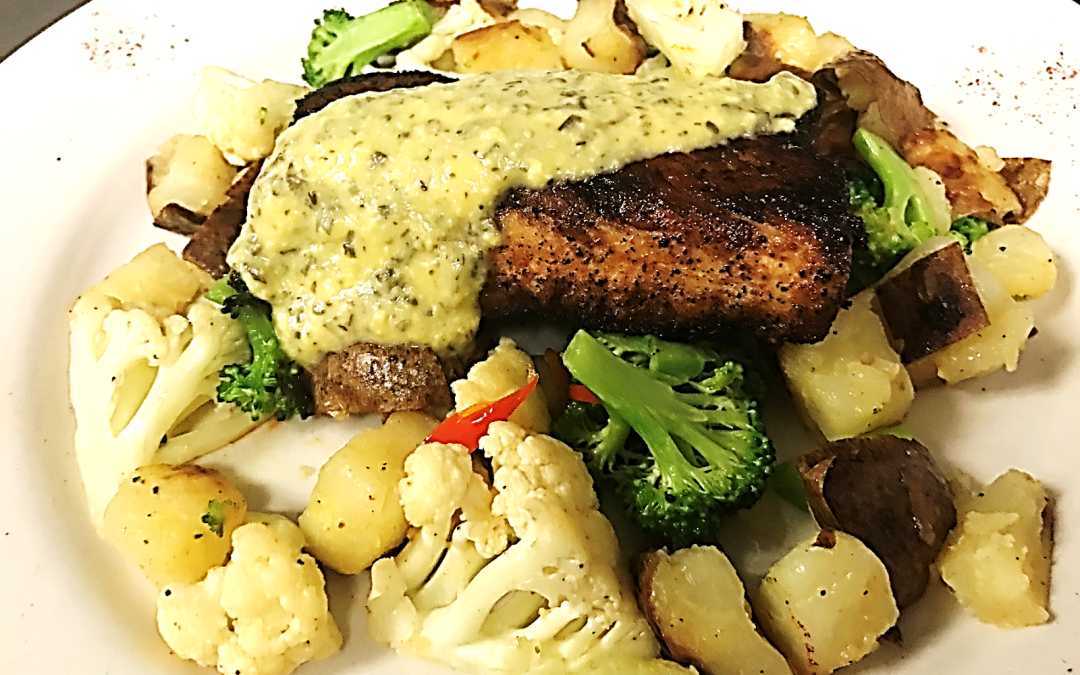 February Seafood Special – Blackened Mahi-Mahi, Dusted with Cajun Seasoning
