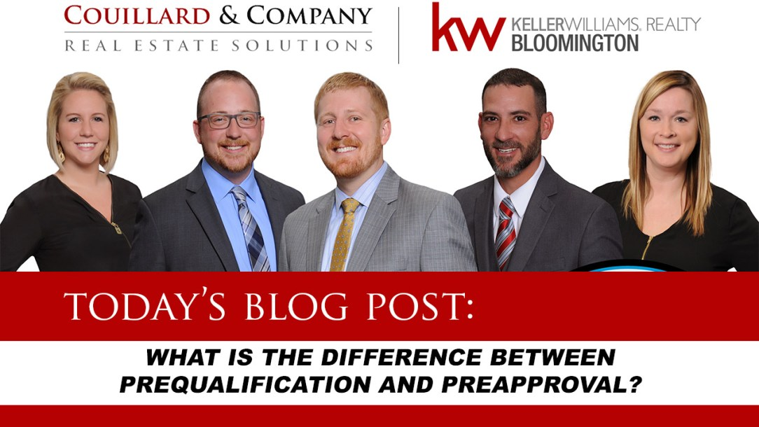 blog post on prequalification and preapproval