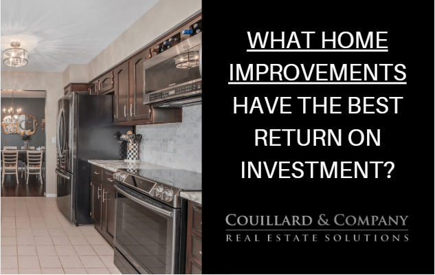 Couillard's Corner – Which Home Improvement Projects have the Best Return on Investment?