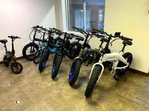 Folding Fat Tire E-Bikes
