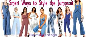 Smart Ways to Style the Jumpsuit