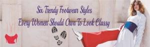 Trendy footwear styles