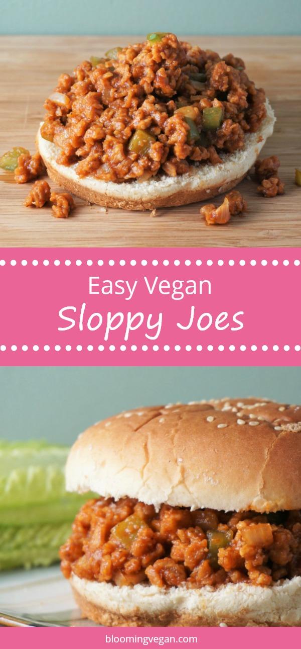 Easy Vegan Sloppy Joes   Blooming Vegan
