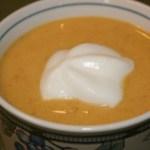 carrot cream soup recipe