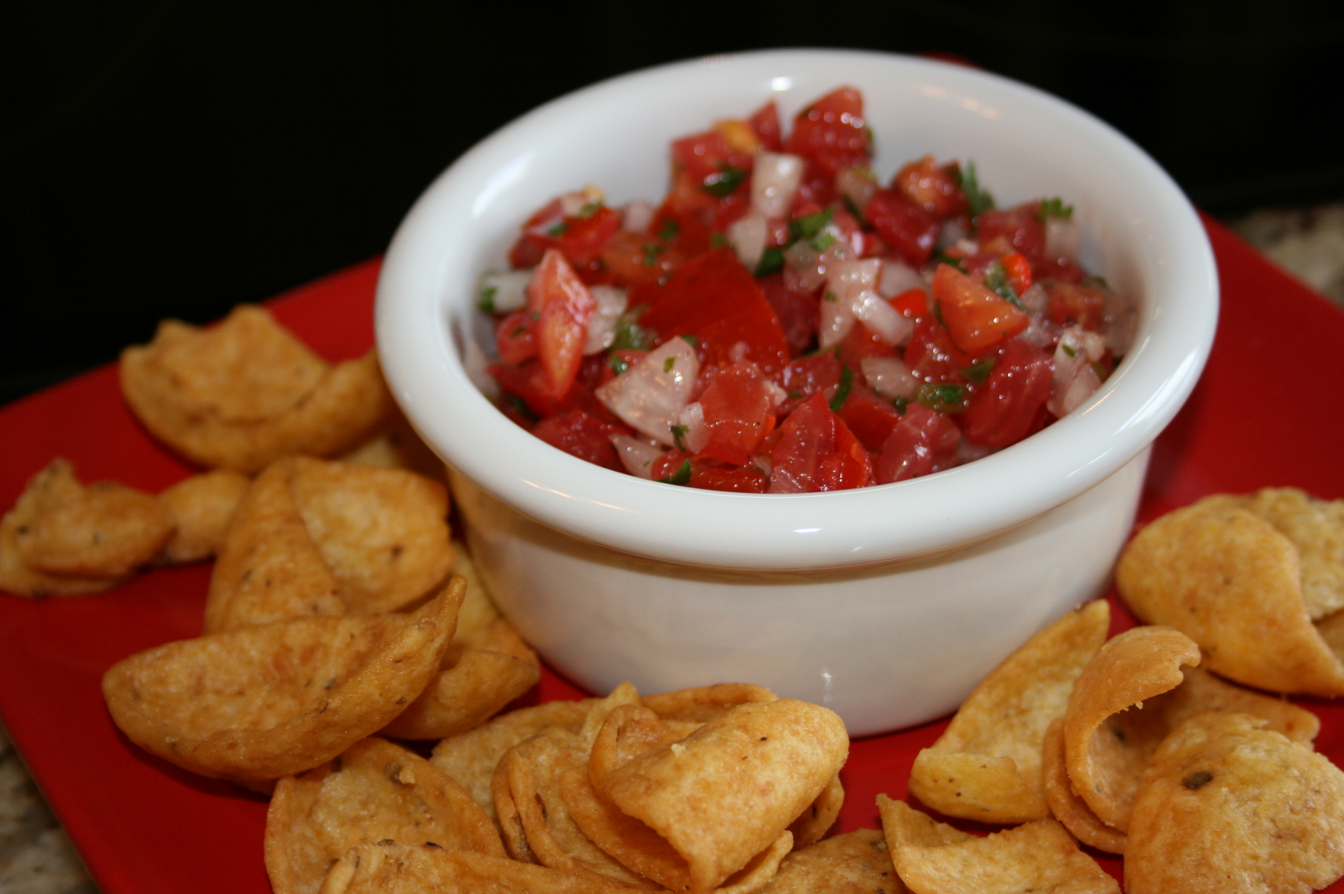 Summer Salsa Made From Your Backyard Garden Fruits and Vegetables