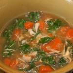 recipe kale chicken soup