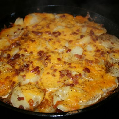Skillet Potatoes and Onions