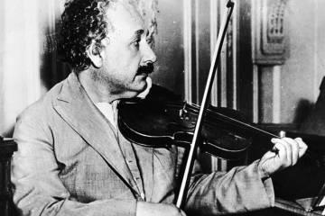 Génios e a Arte Musical Génios e a Arte Musical einstein violino
