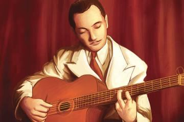 Django Reinhardt Django Reinhardt Django Reinhardt Guitarra Jazz