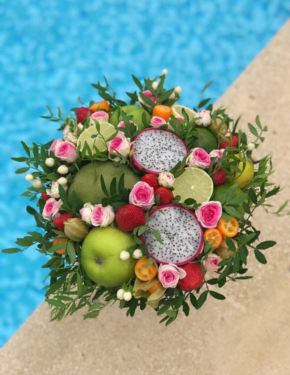 bouquet de fruits du dragon
