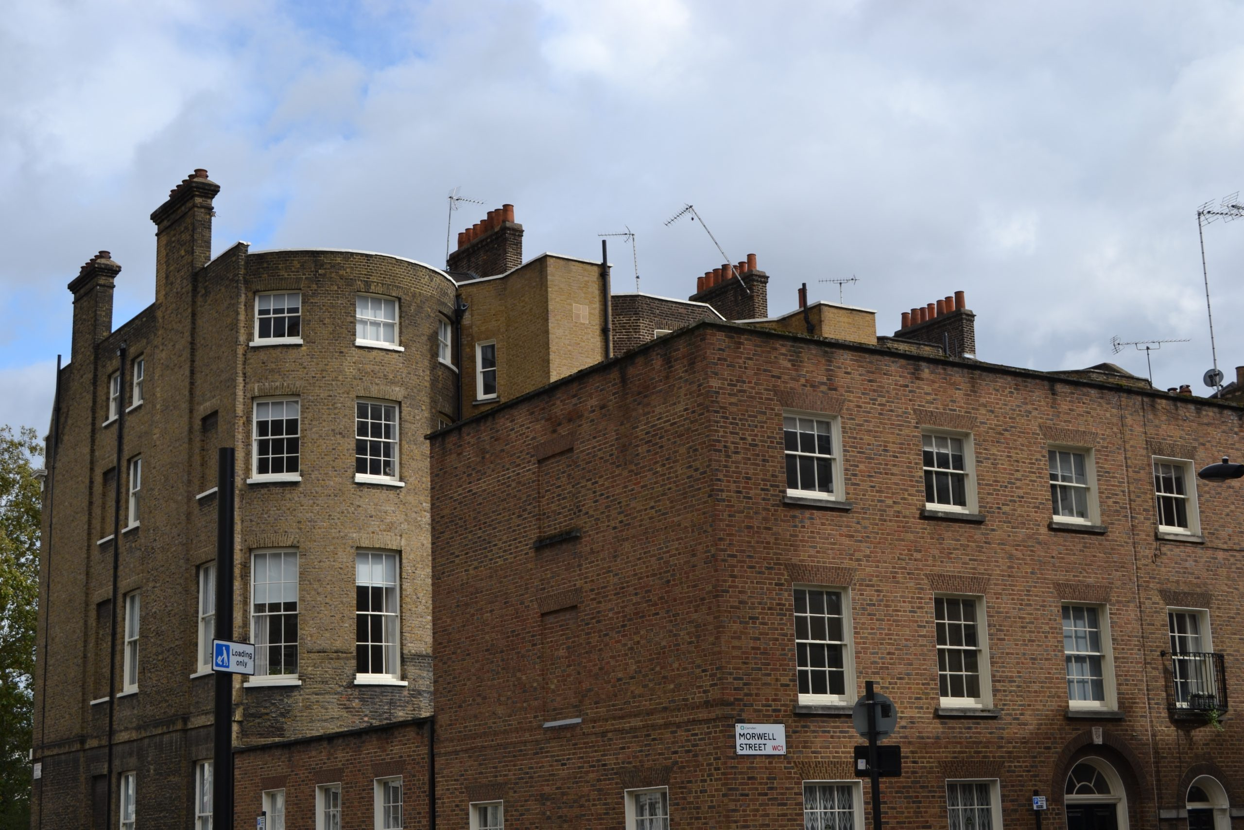 Camden Plan Demolition of Victorian Terraces next to Bedford Square