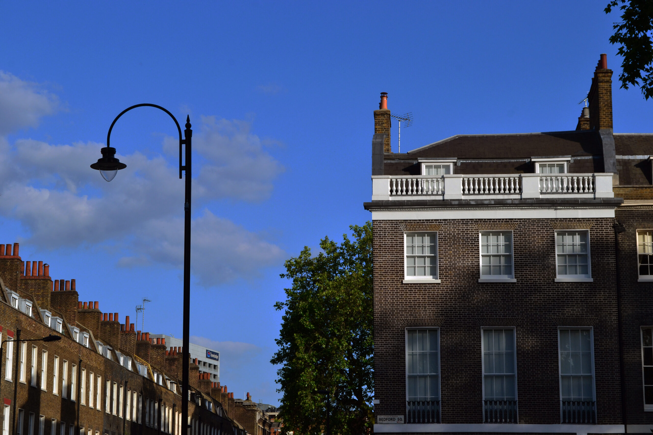 Outrage as Camden Tips Bedford Square Glass Extension for Approval