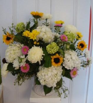 sunflowershydrangea-yellow