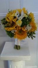 sunflowerwithlilies