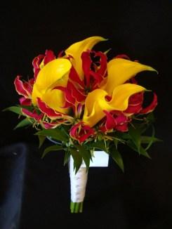 yellowlilieswithred