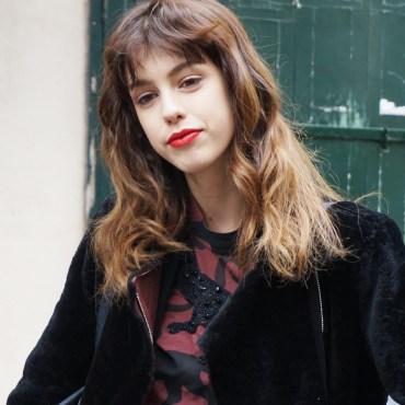 Model: Mayka - Red lips