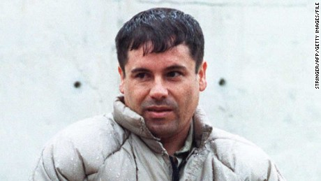 World's most wanted drug lord.