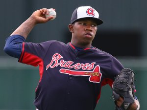 Atlanta Braves pitcher Tyrell Jenkins