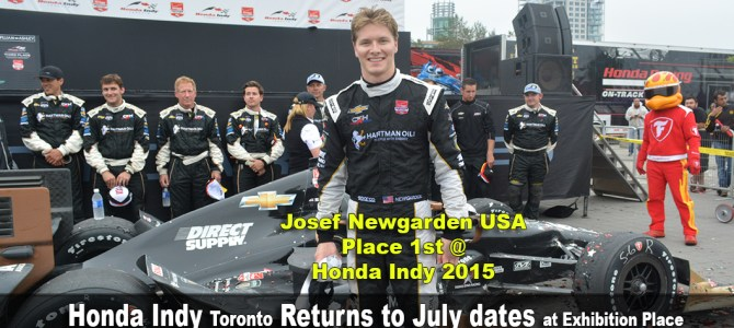Honda Indy Toronto returns to July dates at Exhibition Place