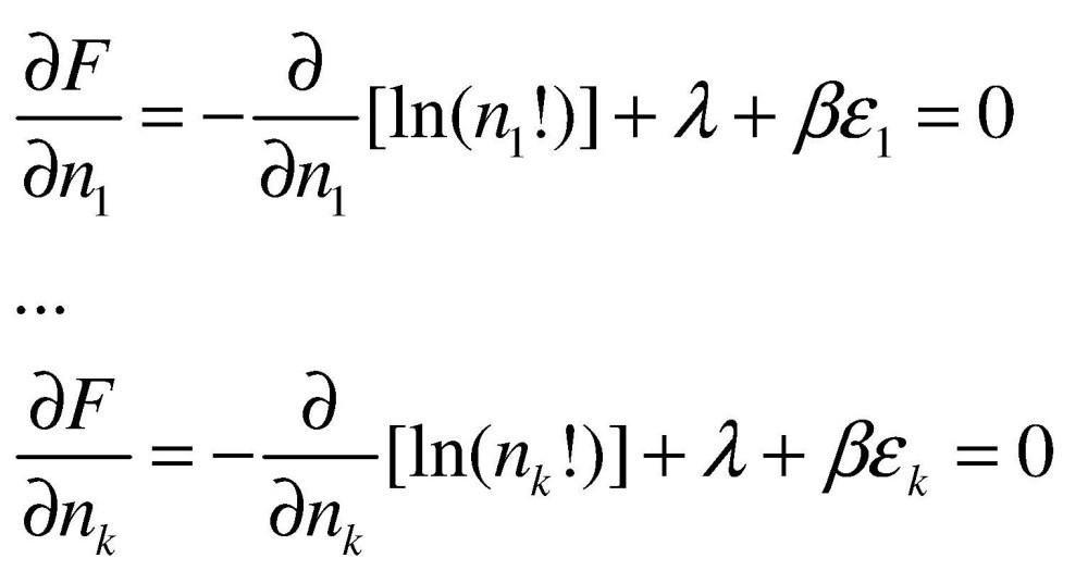 Distribuição de Boltzmann 1 - Dedução (4/6)