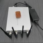 10W Potencia Bloqueador de Celular 3G CDMA GPS WiFi com Controle Remoto 2