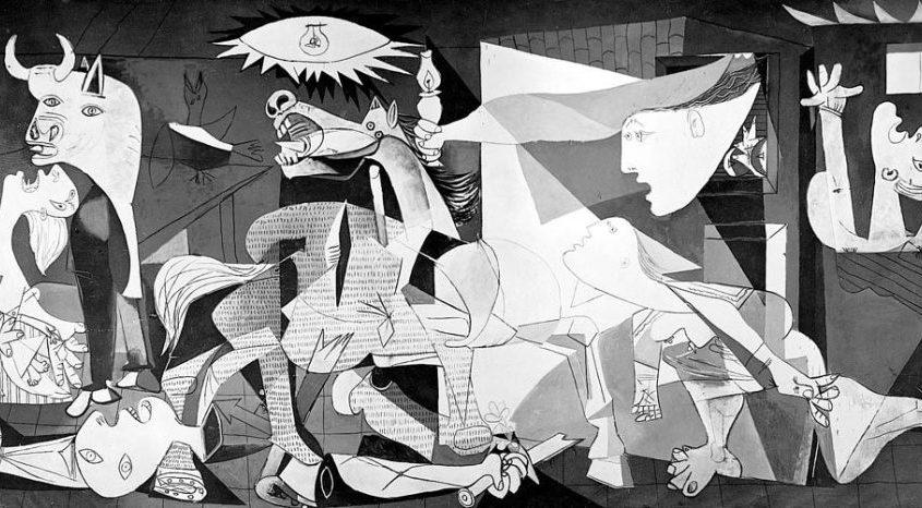El Guernica de Picasso, una obra maestra del arte contemporáneo y del arte comprometido políticamente - David Rey - septiembre de 2020 GUERNICA-DESTACADA