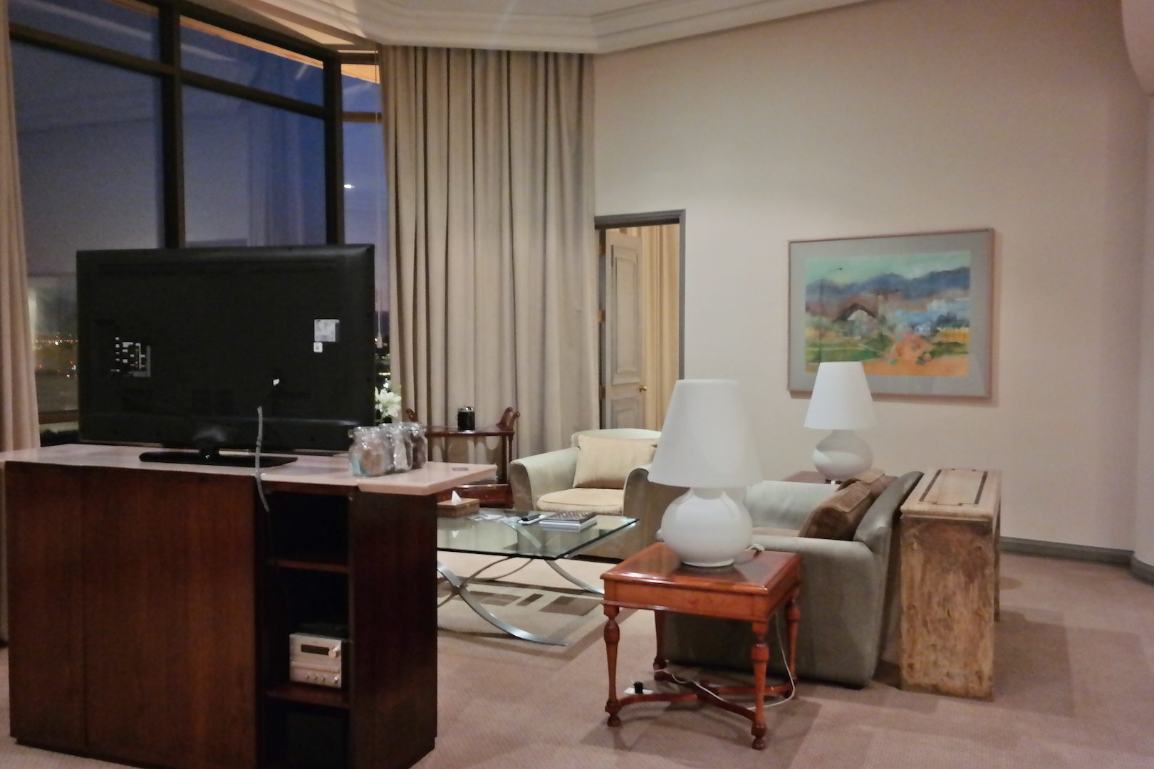 The Grand Hyatt Santiago Executive Room, Diplomatic Suite and Corner Terrace
