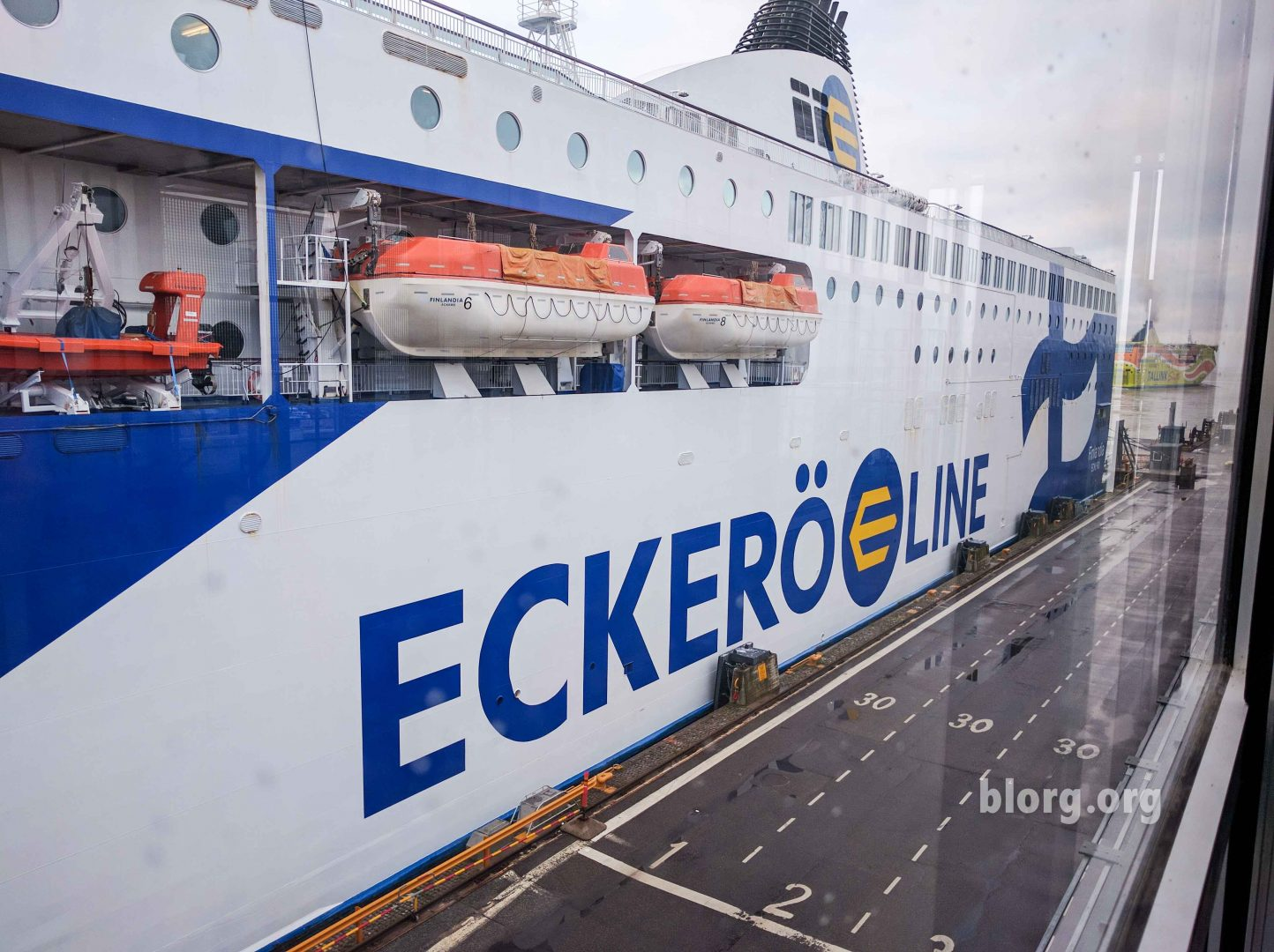 Helsinki to Tallinn Ferry Review – Eckero