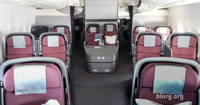 Qantas Business Class: LAX to SYD on the 747
