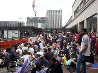 Sydney NYE crowds