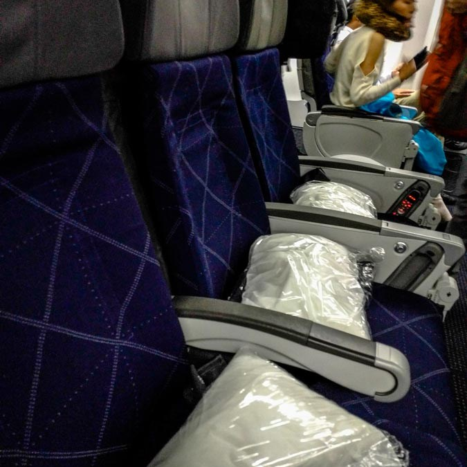 Los Angeles to Tokyo in American Airlines Economy: A Long Flight