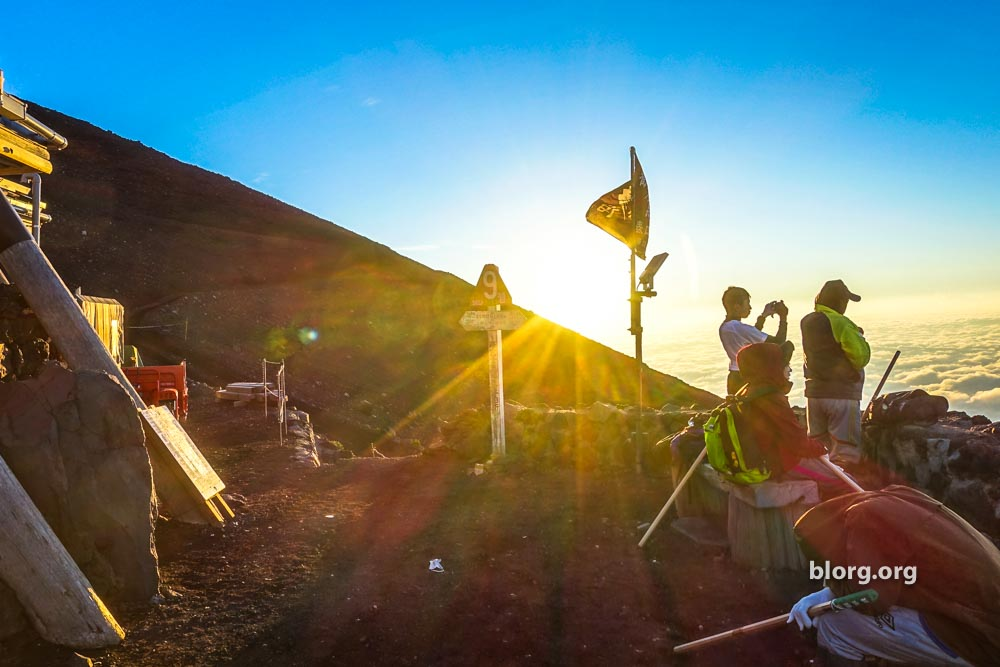 Unsuccessfully Climbing Mt. Fuji: A Tired Tale