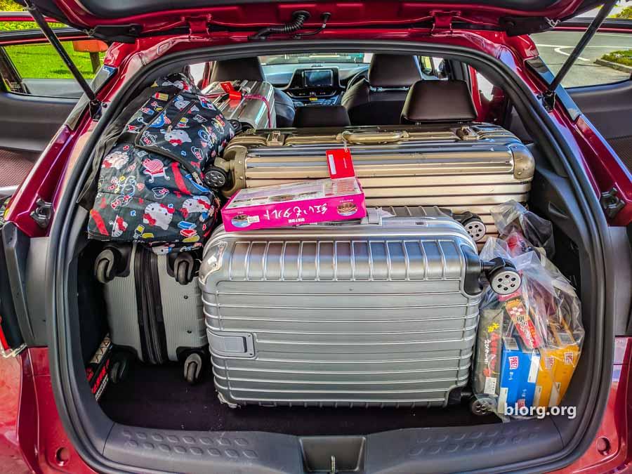 toyota ch-r trunk