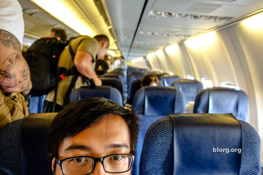 ana boeing 737 economy