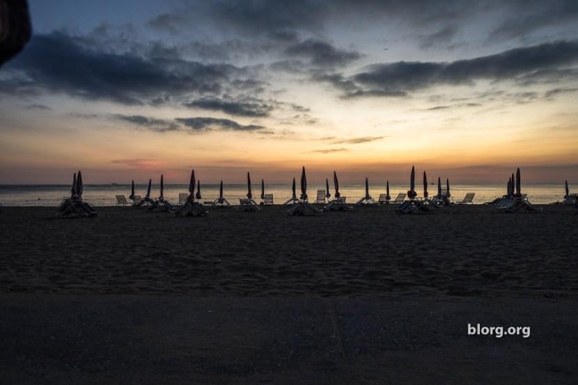okinawa beach sunset