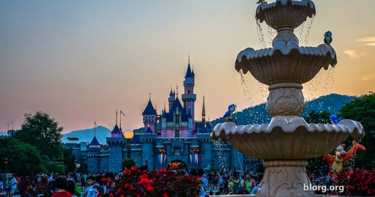 Visual Journey: A Day At Disneyland Hong Kong