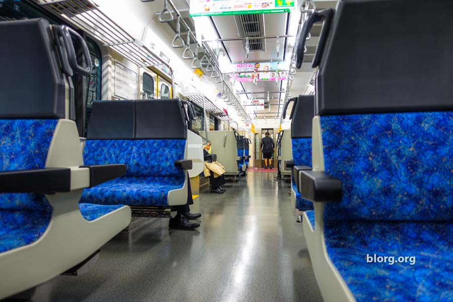 empty japanese train