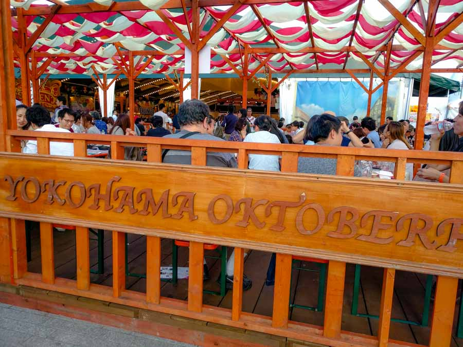 Yokohama Oktoberfest: A Very Organized Celebration!