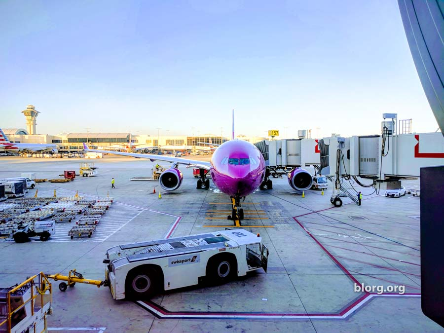 Wow Air Flight LAX-KEF: A Good/Bad Deal